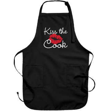 Kiss The Cook Port Authority Adjustable Full Length Apron