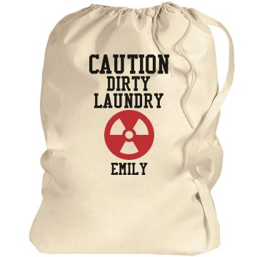 Caution Laundry Bag Port Authority Laundry Bag
