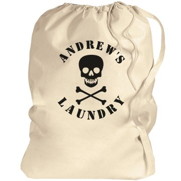 Skull Laundry Bag Port Authority Laundry Bag