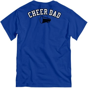 Cheer Dad Unisex Gildan Heavy Cotton Crew Neck Tee