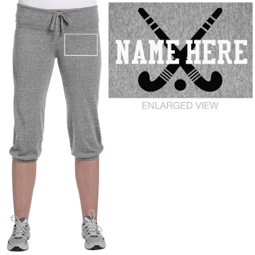 Field Hockey Capri Junior Fit Soffe Fleece Capri