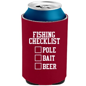 Fishing Can Cooler The Official KOOZIE Can Kooler