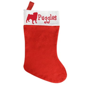 Mr. Dog Stocking Giant Personalized Holiday Stocking