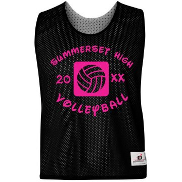 Neon Volleyball Pinnie Badger Sport Lacrosse Reversible Practice Pinnie