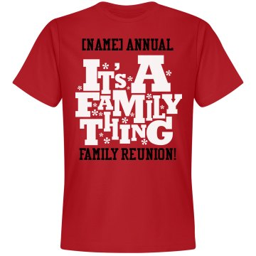 Cooke Family Reunion  Unisex Gildan Heavy Cotton Crew Neck Tee