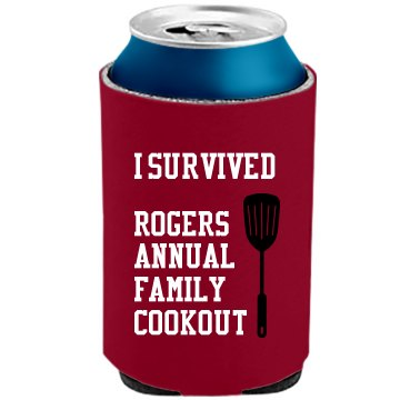 Rogers Family Reunion The Official KOOZIE Can Kooler