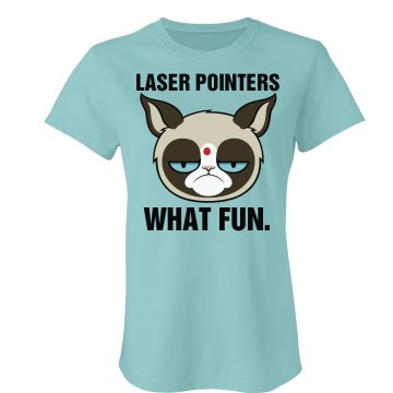 A Grumpy Cat's Toy Junior Fit Bella Favorite Tee