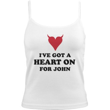 A Heart On for John