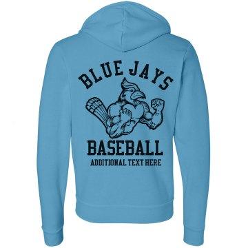 A Neon Baseball Fan
