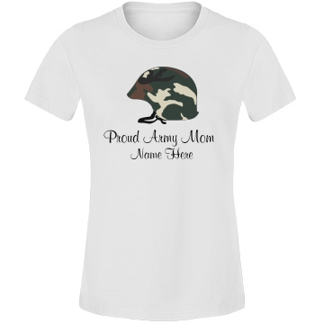 A Proud Military Mom Misses Relaxed Fit Anvil Lightweight Fashion Tee