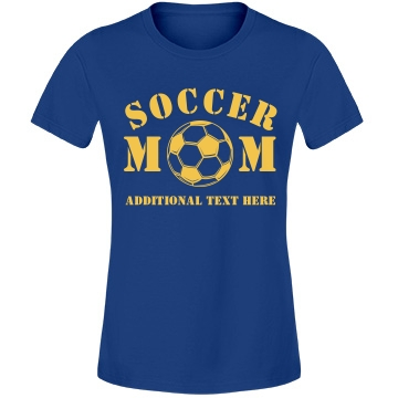 A Proud Soccer Mom Misses Relaxed Fit Anvil Lightweight Fashion Tee