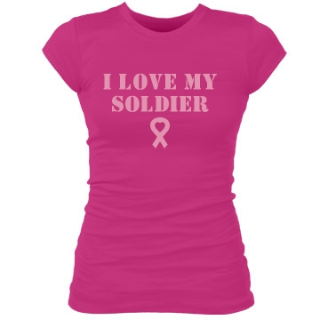 A Soldier's Love Junior Fit Bella Sheer Longer Length Rib Tee