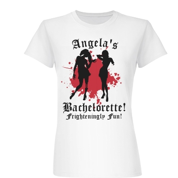 A Zombie Bachelorette Junior Fit Basic Bella Favorite Tee