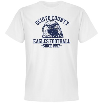 Eagles Football Unisex Gildan SoftStyle Tee