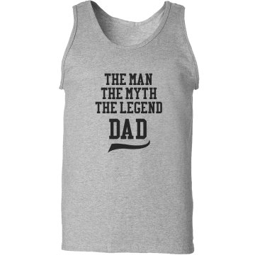 Dad Tank Unisex Gildan Ultra Cotton Tank Top