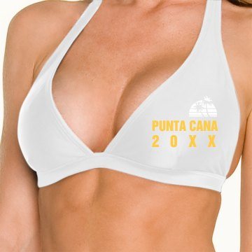 Punta Cana Swimsuit Omni Swimsuit Halter Top
