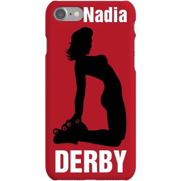 Roller Derby Darling Case Plastic iPhone 5 Case Black