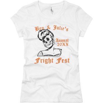 Fright Fest Junior Fit Basic Bella Favorite Tee