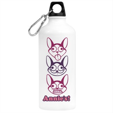 Annie&#x27;s Desk Water Bottle Aluminum Water Bottle
