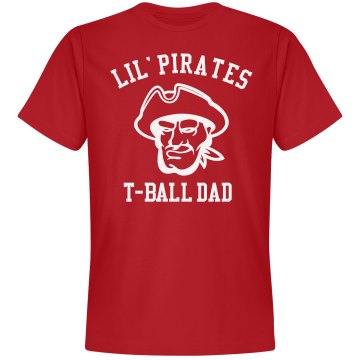 T-Ball Dad Unisex Gildan Heavy Cotton Crew Neck Tee