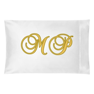Initials Pillowcase Pillowcase