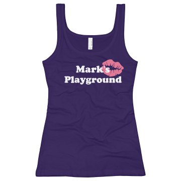Mark's Playground Junior Fit Bella Longer Length 1x1 Rib Tank Top