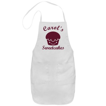 Carol's Sweetcakes Port Authority Adjustable Full Length Apron