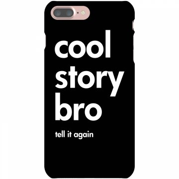 Cool Story Bro Rubber iPhone 4 & 4S Case Black