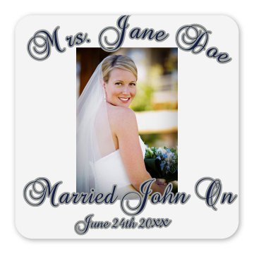Married Magnet Square Magnet