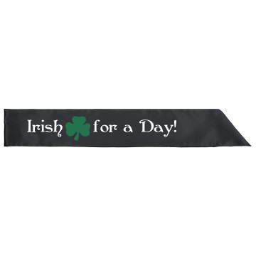 St. Patrick&#x27;s Day Sash Adult Satin Party Sash