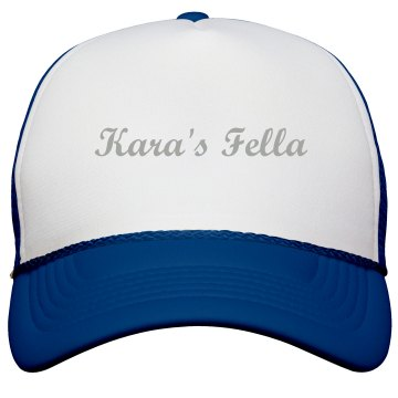 Kara's Fella Trucker Hat KC Caps Poly-Foam Snapback Trucker Hat