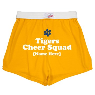 Cheer Squad Junior Fit Bella Fitness Shorts