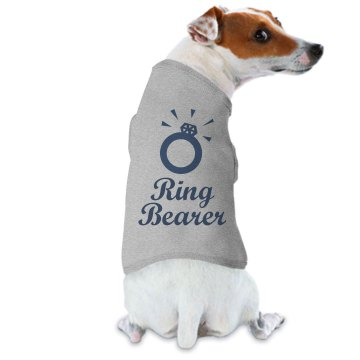 Dog Ring Bearer Tee Doggie Skins Dog Ringer Tee
