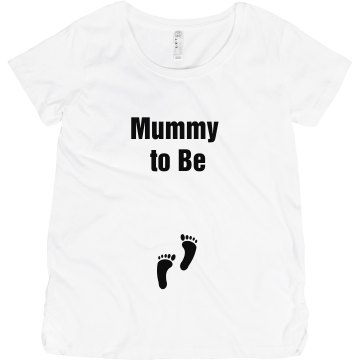 Mummy To Be Maternity Maternity LA T Cotton Tee