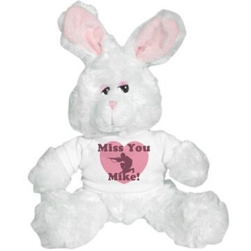 Miss You Mike Plush Plush Bunny