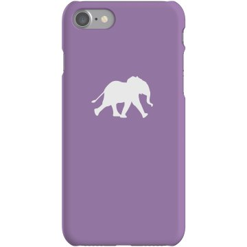 Elephant iPhone Case Plastic iPhone 5 Case Black