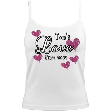 Tom's Love Bella Junior Fit Camisole