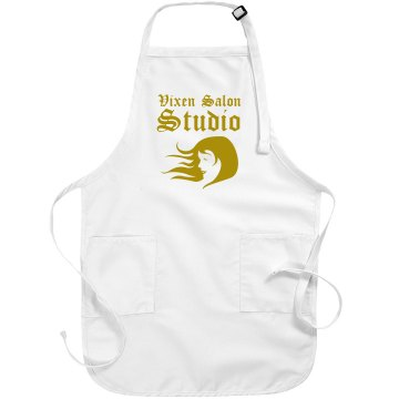 Gold Salon Apron Port Authority Adjustable Full Length Apron