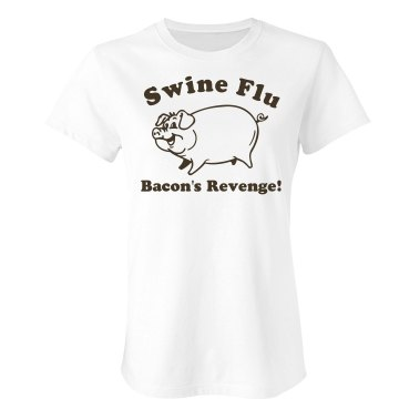 Bacon's Revenge Junior Fit Bella Crewneck Jersey Tee