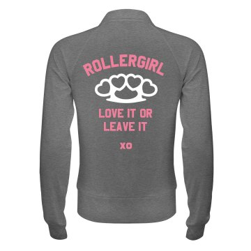 Roller Girl Junior Fit Bella Cadet Zip Track Jacket