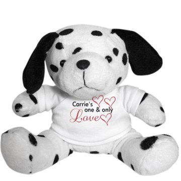 Carrie's Love Plush Dalmatian Dog