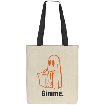 Halloween Candy Bag Liberty Bags Cotton Canvas Tote