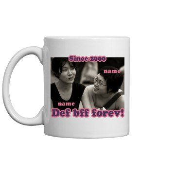 Best Friends Mugs 11oz Ceramic Coffee Mug