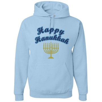 Celebrate Hanukkah Hoodie Unisex Gildan Heavy Blend Hoodie