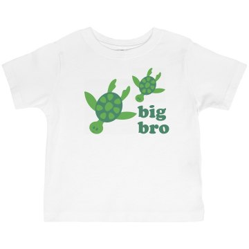 Big Bro Toddler Basic Gildan Ultra Cotton Crew Neck Tee