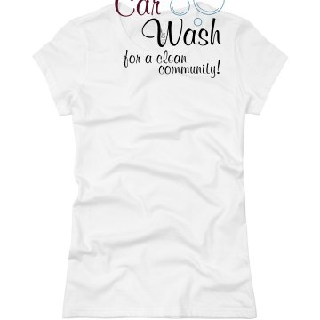 Car wash bubbles Junior Fit Basic Bella Favorite Tee
