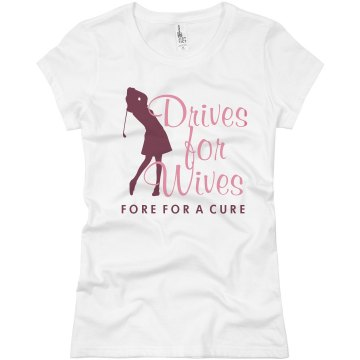 Drives For Wives Junior Fit Basic Bella Favorite Tee