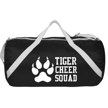 Tiger Cheer Squad Augusta Sport Roll Bag