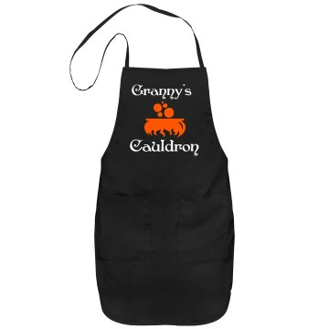 Granny&#x27;s Cauldron Apron Port Authority Adjustable Full Length Apron
