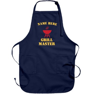Grill Master Apron Port Authority Adjustable Full Length Apron